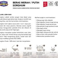 Jual (Murah) Red Sorghum Rice / Beras Sorghum Merah 500 Gr Murah