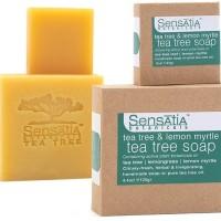 Jual Sensatia Botanicals Tea Tree Soap 25gr | Tea Tree & Lemon Myrtle Murah