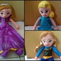 Jual boneka paket princess (sofia, elsa, ana) Murah
