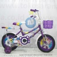 12in Lazaro 212 Sepeda Anak Perempuan Usia 2 - 4 Tahun