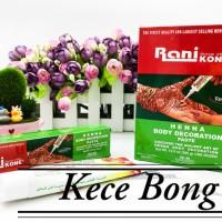 [UKURAN 30GR] RANI KONE BODY HENNA BOX HIJAU BODY Decoration Paste