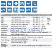 Sanwa CD772 True RMS Digital Multimeter Multitester Mul Murah