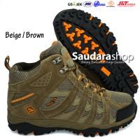 SNTA 476 Sepatu Gunung / Sepatu Hiking / Sepatu Outdoor Beige-Brown