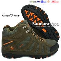 SNTA 476 Sepatu Gunung / Sepatu Hiking / Sepatu Outdoor Green-Orange