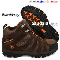 SNTA 476 Sepatu Gunung / Sepatu Hiking / Sepatu Outdoor Brown-Orange
