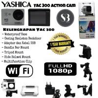 Yashica-300 Kamera Action dengan Wifi Asli dan Bergaransi