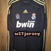 Jersey Retro Real Madrid Away Longsleeve 2009/2010