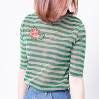 Jual kaos army crop tees tee atasan tshirt oblong tumblr print wanita murah Murah