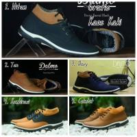 Sepatu Casual Pria / Sepatu Casual Murah / Sepatu Dalmo Boots Tan