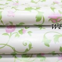 WPS226 WHITE N GREEN VECTOR wallpaper-dinding wallpaper stiker dinding