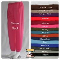 Serut Standar / Celamis Serut / Cumi / Dalaman gamis / Celana Santai
