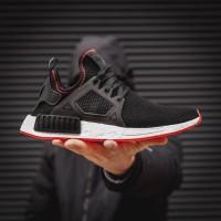 Adidas NMD XR1 PRIMEKNIT - CORE BLACK/RED BRED   ADIDAS ORIGINALS