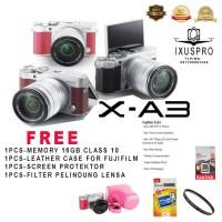 Promo Diskon FUJIFILM X-A3 + LENSA 16-50MM / FUJIFILM XA3 / FUJI XA 3