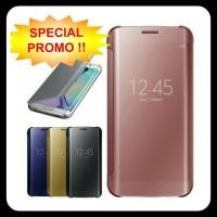 Jual Casing Hp Cover Samsung S5 S6 S6 EDGE S7 S7 EDGE Flip Miror Case Murah