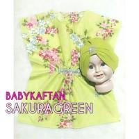 baju muslim bayi baju kaftan bayi free turban bayi model kristal