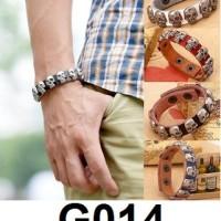 Gelang Kulit tengkorak G014