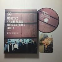 Album MONSTA X - GUILTY Version The Clan Part 2 Photocard Wonho
