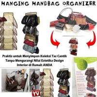 Jual distibutor Purse Store Hanging handbag organizer tempat tas scarf topi Murah
