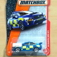 MATCHBOX '15 SUBARU WRX STI BLUE POLICE HEROIC RESCUE 2017 #60/125