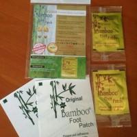 Jual koyo kaki bamboo gold detox foot patch-premium quality (ORIGINAL) Murah