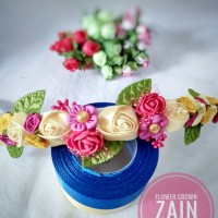 Jual flower crown headband anak Murah