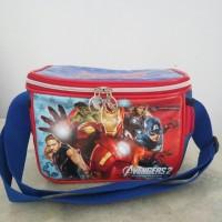 Jual Tas bekel kotak makan Avengers avenger Captain America Ironman Murah