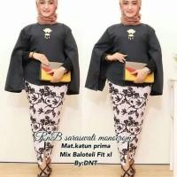 Jual Batik Wanita R n B Saraswati Monocrom Murah