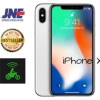 MURAH iPhone X 256gb Silver/ Grey garansi Apple 1 Thn BNI
