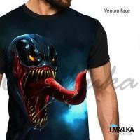 Jual Kaos full Print Venom Face Murah