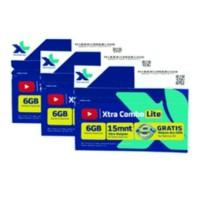 KARTU PERDANA INTERNET XL 6 GB ( PAKET ISI 10 )