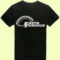 Jual Kaos T Shirt Tshirt Fast And Furious Murah
