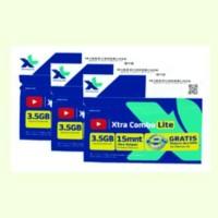 KARTU PERDANA INTERNET XL 3.5 GB ( PAKET 10 PC )