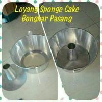 Jual LOYANG CHIFFON / SPONGE CAKE 1 SET Murah