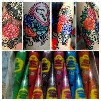 Jual henna colour Rainbow Cone Murah