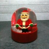 Jual Bola Kristal Natal - Bola Salju Christmas - Bola Musik Santa Claus Murah