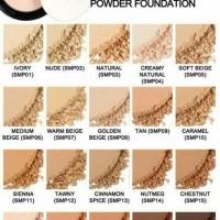 NYX staymatte but not flat powder foundation
