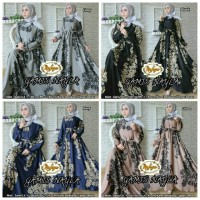 Jual Baju Gamis Nayla Dress by Nafsya Longdress Murah