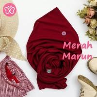 Pashmina instan Pashmina anak Jilbab anak jilbab instan Merah Maroon