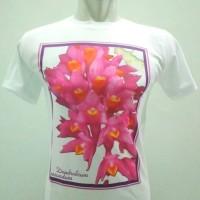 Kaos Anggrek : Dendrobium secundum size M