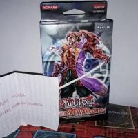 Jual Yugioh Jual Deck Six Samurai Full Deck + Include Sleave Warna Merah Murah