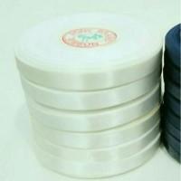 Pita Satin Putih hrg PROMO per Roll lbr 1.25