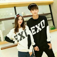 Couple exo,baju murah,sepasang kaos jaman sekarang,fashion wanita,AG