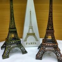 Jual PAJANGAN MEJA PARIS / MENARA EIFFEL / HIASAN MEJA UKURAN 22 CM Murah