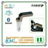 Jual CAR CHARGER 3 IN 1 BLUETOOTH & FM TRANSMISTER LCD DISPLAY Murah