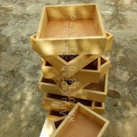 25x35cm kotak seserahan kayu unik box hantaran pernikahan wooden box