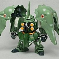 SD Kshatriya + SD D-50C Loto. Gundam Original Bandai
