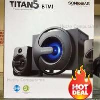 Jual [Sonic Gear] New Titan 5 Btmi Multimedia Speaker Fm Radio, Usb, Memory Murah