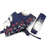 Jual Payung Lipat Buka Tutup Otomatis Totoro Navy Blue Murah