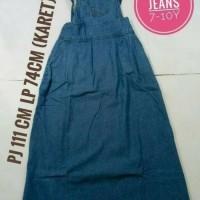 Jual [Termurah] Overall Jeans/Gamis Overal Anak Usia 8-10 tahun Murah