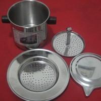 Jual Vietnam Coffee Drip Stainless Uk Besar / Kapasitas 200 ml COOK Limited Murah